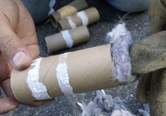 Put lint in tube to help control the tick population in your area. Mosquito Control, Bug Control, Weed Control, Garden Bugs, Garden Pests, Tick Tubes, Natural Tick Repellent, Beneficial Insects