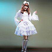 Sweet Girl Long Sleeve Knee-length Cotton Pri... – USD $ 69.99