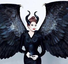 Bianca Del Rio as Maleficent. Third season in a row I've called the winner!