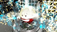 An Electrode I did for a challenge on C4D.