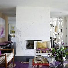 4 Competent Cool Tips: Tv Over Fireplace Home Theaters fireplace mirror love.Tv Over Fireplace Home Theaters fireplace wall grey.Fireplace Vintage How To Paint. Eclectic Living Room, My Living Room, Home And Living, Living Spaces, Living Area, Salons Violet, Interior Exterior, Interior Design, Home Goods Decor