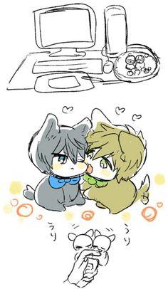 Haru and Makoto // Free!