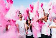 Only gender reveal I've seen that I have liked! I love how hardcore everyone is!