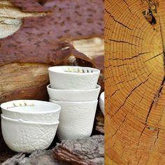 🌳 #porcelain #handmade #bowls #cup #nature #creditphotomarieroura…