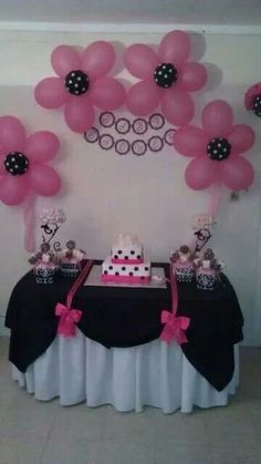 Minnie mouse theme party