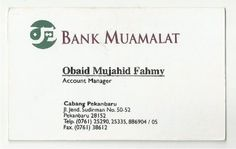 bank muamalat - obaid