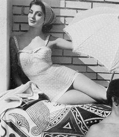 Suzy Parker by Henry Clarke - 1954