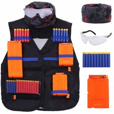 Nerf Games, Nerf Toys, Nerf Vest, Cars For Sale Philippines, Arma Nerf, Skeleton Mask, Toy Cars For Kids, Nerf War, Tactical Jacket