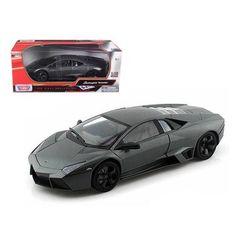Lamborghini Reventon Grey 1/18 Diecast Car Model by Motormax