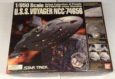 Bandai Star Trek USS Voyager NCC-74656 31434 1:850 Intrepid-class  NEW