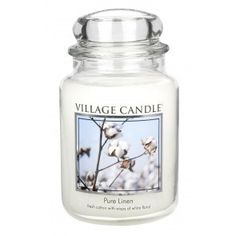Shop for Village Candle Large Fragranced Candle Jar - X - Pure Linen - Upto 170 Hours Burn Time. Starting from Choose from the 2 best options & compare live & historic home prices. Glass Apothecary Jars, Glass Jars, Candle Jars, Aromatherapy Candles, Scented Candles, Shabby Chic Gifts, Candle Diffuser, Home Fragrances, Bath And Body Works