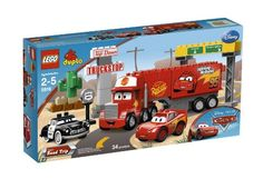 From the Manufacturer Travel to the Piston Cup championship with Lightning McQueen and Mack! Finally on their way to the big Piston Cup championship Mack and Lightning McQueen are hoping to get there...