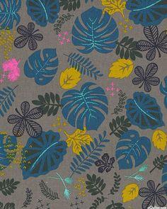 Macramé - House Plants -COTTON/LINEN-Quilt Fabrics from www.eQuilter.com