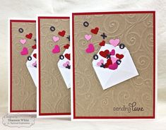 Sending Love Cards by Shannon White