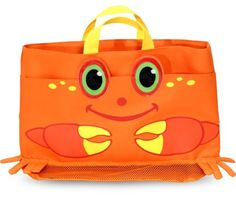 Melissa and Doug Sunny Patch Clicker Crab Beach Tote Bag * This is an Amazon Affiliate link. Click image for more details.