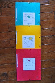 Dans la pédagogie Montessori, on appréhende, en géographie , le lointain avant le proche : l'enfant est un citoyen du monde avant d'être...