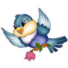 Cute Birds Page 2 - Cartoon Birds Clip Art