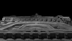 Building . Roof . Detail . Black and White | Oporto, Portugal ~ Ph. Dani Carvalho