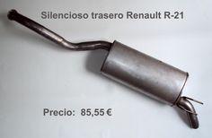 SILENCIOSO TRASERO RENAULT R-21