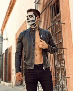 Leather Jacket, Leather Men, Joker, Hipster, Jackets, Fictional Characters, Style, Fashion, Make Up