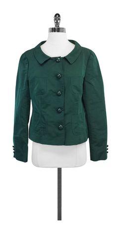 Moschino Hunter Green Jacket