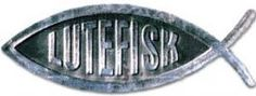 Lutefisk Car Plaque or Magnet