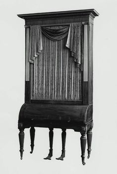 Upright grand piano  Clementi & Co., 1814