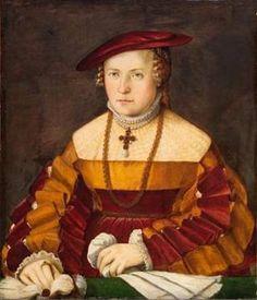 Santjagoritters Woman, ca. 1540  (Christoph Amberger)(1505-1562)   Kunsthistorisches Museum, Wien  GG_5621