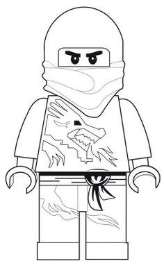 coloring page Lego Ninjago - Lego Ninjago - Click image to find more DIY & Crafts Pinterest pins