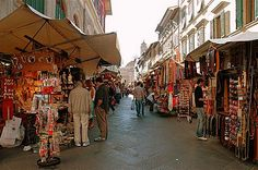 San Lorenzo Market in Florence, Italy San Lorenzo Market, The World Is Flat, Death Cab For Cutie, Italian Market, The Old Days, Travel Bugs, Florence Italy, Around The Worlds, Old Things