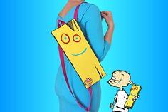Ed Edd n Eddy plank backpack Johnny plank cartoon bag cartoon | Etsy Golden Belt, Ed Edd N Eddy, Cartoon Bag, Young At Heart, Day Bag, Cartoon Network, Plank, Bart Simpson, Making Out