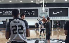 Nets Practice at HSS Training Center