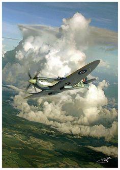 """Spitfire 9"" by PetervanStigt:"