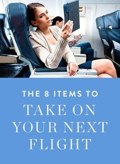 Eight must-have items to bring on your next flight. #TravelwithHSN