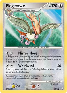 pidgeot card.