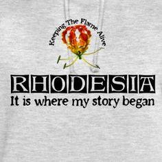 Rhodesia Story Begins (Black) - Unisex Hoodie