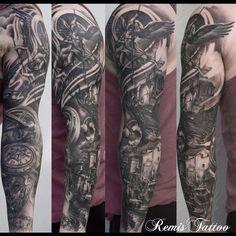 Nice sleeve by Remis Cizauskas