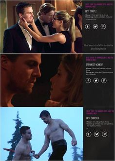 BEST. EVER. TV. AWARDS 2015: AND THE WINNERS ARE! by EOnline #Arrow #Olicity