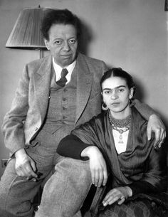 Diego Rivera and Frida Kahlo, 1933