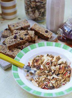 Cinnamon and buckwheat crunch granola #ArtofEatingWell