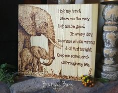 Elephant/Baby Shower Gift/Safari Nursery Wall Art/Elephant Gift/Wood Sign/Rustic decor/Safari Animals/Safari Nursery/Rustic Decor/Handmade  I have loved Elephants since I was a little girl. They are peaceful and calming, which is why it makes such a great fit for a safari nursery; or any