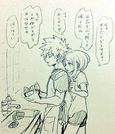Bakugou Katsuki х Uraraka Ochako |BakuRaka|勝茶