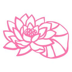 Silhouette Design Store - Search Designs : water lily