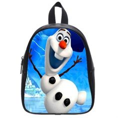 Custom Backpack Large frozen olaf SKU 407699