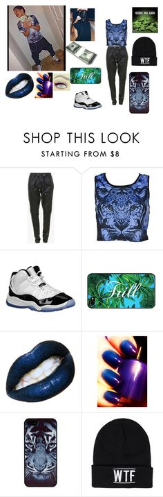 """""""2 crucial ~Chez~"""" by diana-734 ❤ liked on Polyvore featuring Balmain, Concord, BlissfulCASE, Sally&Circle, swag, money, trill and jordan"""