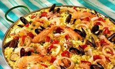 British enthusiasm for and understanding of Spain's cuisines now extends much further than paella. Spanish Desserts, Spanish Dishes, Spanish Rice, Spanish Food, Spanish Paella, Spanish Cuisine, Rice Recipes, Cooking Recipes, Uk Recipes