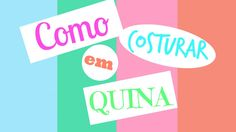Costura Express - Como costurar em Quina