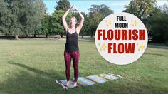 FULL MOON FLOW // 35 min Yoga Flow for Hips, Back, Shoulders, Circulatio...