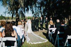 Our bride Lauren wearing a @stellayorkbride  gown! Monika Gauthier Photography. #magnoliaplantation #lace