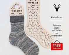 High-quality wooden sock blockers and mitten de WoodicoProjectShop Socks, Fashion, Moda, Fashion Styles, Hosiery, Stockings, Fashion Illustrations, Sock, Fashion Models